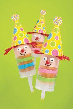 Wilton® Birthday Clowns Treat Pops