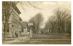 Liverpool NY Tulip St. Looking North 1900's