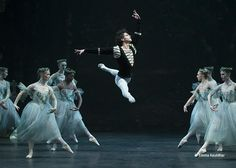 English National Ballet - Isaac Hernandez in Mary Skeaping's Giselle.