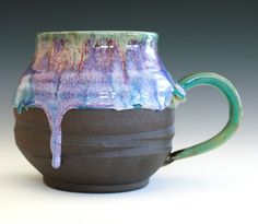 Extra Extra Extra Large Coffee Mug Holds 40 oz by ocpottery----LOVE this!