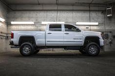Loaded And Lifted 2015 GMC Sierra 3500HD Denali 4x4 6.6L V8 OHV 32V DURAMAX TURBO DIESEL truck For Sale | Northwest Motorsport