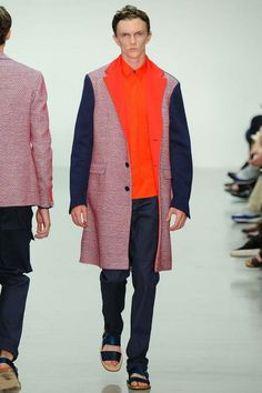 Richard Nicoll | Spring 2015 Menswear Collection | Style.com