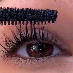 Brown Eye Makeup Tutorial, Makeup For Brown Eyes, Creative Eye Makeup, Simple Makeup, Short Hair Makeup, Lash Extension Mascara, Hooded Eye Makeup, Dramatic Makeup, Tips Belleza