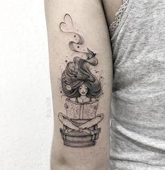 literary tattoos for bookworms Mini Tattoos, Flower Tattoos, Body Art Tattoos, New Tattoos, Small Tattoos, Tattoos For Guys, Tattoos For Women, Sleeve Tattoos, Bookish Tattoos