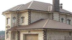 Облицовка фасадов зданий камнем, плиткой
