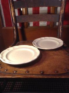 Set of 2 Pfaltzgraff Heirloom Bread/Salad Plates #Pfaltzgraff