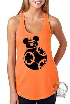 BB8 Shirt / Disney Shirts for Women Want it! In xxl orange!!