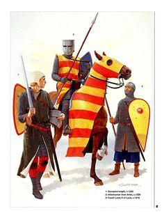 1216 c. Caballeros franceses.