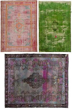 I want one of these for the apartment Rugs by decor8, via Flickr