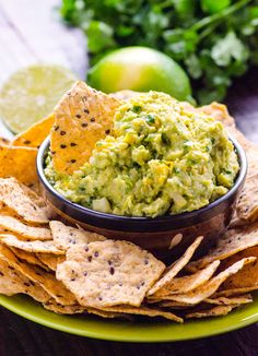 Chunky Jalapeno Avocado and Bean Dip Recipe -- Creamy vegan dip with a bite that makes a delicious spread too.
