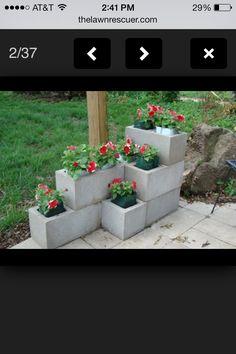 Center block flower pot;)