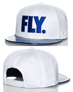 NIKE Logo snapback cap Adjustable strap on back of hat for ultimate comfort Embroidered FLY logo on front