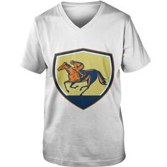 Jockey #Horse Racing Shield Woodcut TShirt, Order HERE ==> https://www.sunfrogshirts.com/Funny/125457997-729111555.html?58114, Please tag & share with your friends who would love it, #birthdaygifts #christmasgifts #jeepsafari  #horse shirts james d'arcy, cute horse shirts, horse shirts for kids   #bowling #chihuahua #chemistry #rottweiler #family #entertainment #food #drink #gardening #geek #hair #beauty #health #fitness #history