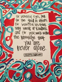 mississippiprep:  paint your favorite quote week in art!
