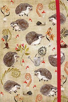 Hedgehogs Journal (Diary, Notebook) by Inc. Peter Pauper ...
