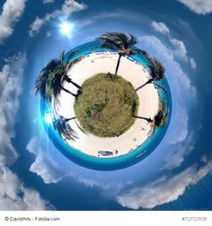 Miami south beach lanscape