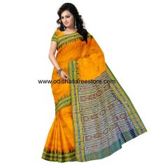 Buy OSS145: Bargarh Silk Saree online - Odisha Saree Store