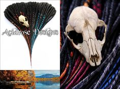 The weather has me feeling like it's fall! Let's give a shout out to all the fall themed synthetic dreads!