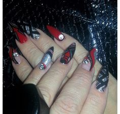 Nail Lounge Stiletto Nails
