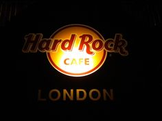 Hard Rock Cafe London. The first and original.  Amelia's and my birthdays dinner, February 2013