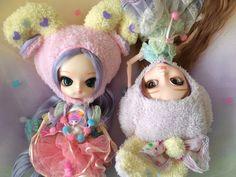 My two darling Beary Fairy girls Sugar Plum (Dalcomi) and Lavender (Kiyomi)! <3
