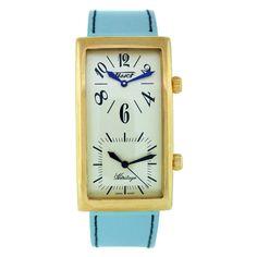 Tissot Mens Heritage T56.5.633.39 Swiss-quartz Blue Band White Dial