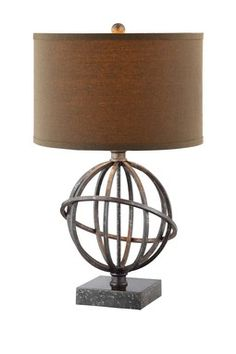 sphere table lamp - Google Search
