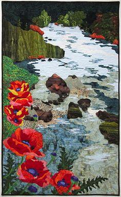 landscape quilt by june jaeger
