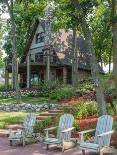 Interior designer Scott Dean's home on Sun Valley Lake.