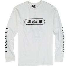 UNDEFEATED x Alpha Industries x Burton Chaos Long Sleeve T Shirt