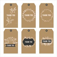 Free Printable Thank You Stickers Hese Vintage Tags Are Ideal For Any Gift