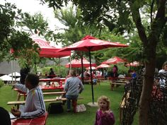 Guests relaxed at the tables, under the umbrellas during the day at the X-dirt trail run. Tables and umbrellas sponsored by SA Breweries. Thank you for all your support SAB! Team Building Venues, Game Lodge, Umbrellas, Wedding Venues, Trail, Tables, Spa, Events, In This Moment