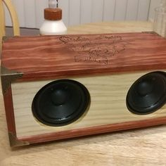 Make Your Own Simple & Cheap Portable Bluetooth Speaker : 5 Steps (with Pictures) - Instructables Diy Bluetooth Speaker, Logitech Speakers, Bluetooth Gadgets, Subwoofer Speaker, Diy Speakers, Audio Amplifier, Electronics Gadgets, Pegboard Craft Room, Cheap Speakers