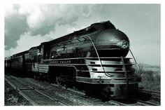 The John Wilkes, Lehigh Valley Railroad. 1941 photo by Donald Furler.