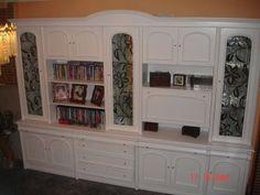 pintar un mueble de salon oscuro