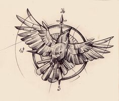 compass tattoo tumblr - Buscar con Google