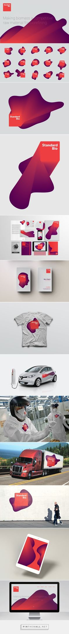 Standard Bio on Behance - created via http://pinthemall.net