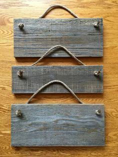Pallet and Nautical Rope Wall Frames - 130+ Inspired Wood Pallet Projects | 101 Pallet Ideas - Part 9