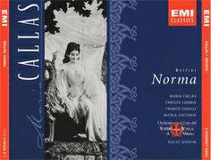 Norma [CD] : Òpera en dos actes de Vincenzo Bellini, amb llibret de Felice Romani, estrenada l'any 1831 al Teatre de La Scala de Milà.   ARGUMENT: Un del màxims exponents de la lírica italiana que desenvolupa un intens drama romàntic situat a la Galia de l'any 50 a. de C.
