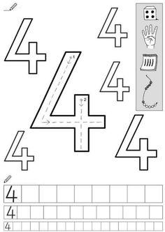 Kindergarten Math Worksheets, Maths, Blank Coloring Pages, Fine Motor, Homeschooling, Preschool, Templates, Names, Kindergarten