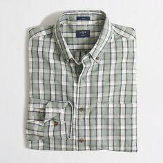 <ul><li>Cotton.</li><li>Slim fit, cut more narrowly through the body and sleeves.</li><li>Button-down collar.</li><li>Machine wash.</li><li>Import.</li></ul>