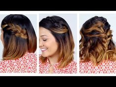 62 Best Short Hairstyle Tutorials Images Short Hairstyle Tutorial