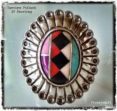 Carolyn Pollack sterling silver ring - www.flearoom.fi