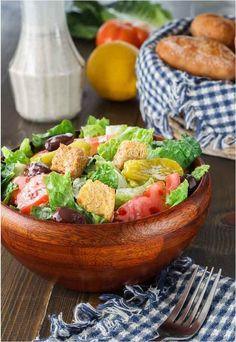 Copycat Olive Garden Salad Recipe | AllFreeCopycatRecipes.com
