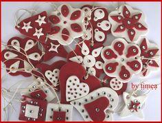 Christmas ornaments fimo polymer clay  http://www.flickr.com/photos/timiejoe/3084547246/lightbox/