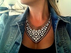 Walkthrough vintage rhinestone necklace for boho-chic necklace! - How to Create Jewelry - Mount Jewelry: How to Make and Sell, Pas ...