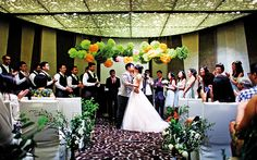 The wedding was a celebration of love, friends and life.  #lotr #lordoftherings #weddings #wedding #crowneplaza #singapore #brides