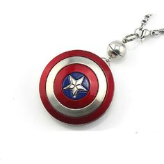 Captain America's Shield USB Flash Drive Necklace