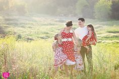 apparently I really love family interaction in family pictures! Love this. And the color coordination.