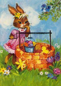 Honey Bunny, Easter, Menu, Painting, Fictional Characters, Art, Water Well, Storytelling, Menu Board Design